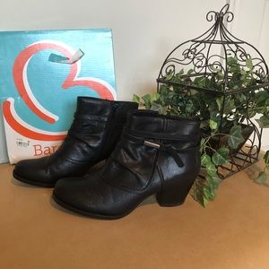 BareTraps Black Booties Size 8 1/2